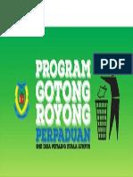 BANNER GOTONG ROYONG 2015