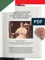 Benedicto XV y La Paz