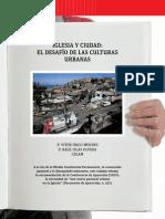 Iglesia y Culturas Urbanas