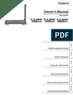 Cube-20gx 40gx 80gx Manual