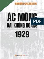 Ac Mong Dai Khung Hoang 1929 - John Kenneth Galbraith