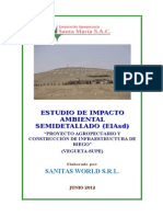 1 - 2012 - EIA-SD - INFRAESTRUCTURA DE RIEGO - EIAsd Corporacion Agropecuaria Santa Maria S.A.C[1].doc
