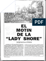 El motin de la ¨Lady shore¨