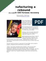Manufacturing a Rebound