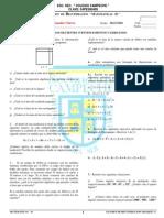 Examen de Recuperacion 3er Bimestre de Matematicas 2