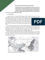 Peradaban Sungai Huang Ho Dan Yang Tse Kiang