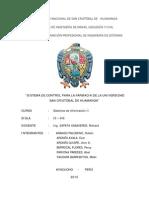 sistema de farmacia UNSCH con la metodologia  ICONIX