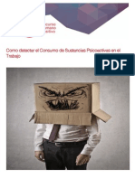 Como Detectar El Consumo de Sustancias Psicoactivas en El Trabajo