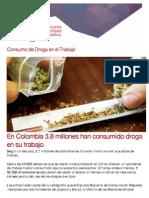 Consumo de Droga en El Trabajo