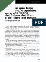 Adivinen Que Traje de Regalo o Apuntes Para Una Teoria Del Futuro Del Libro o Del Libro Del Futuro