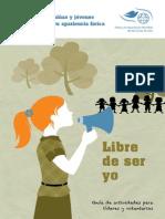 Manual para lideres,programa Libre de Ser Yo