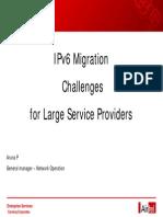 Pidikiti Ipv6 Migration