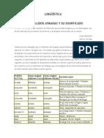 Apellidos Aymaras (Significado detallado)