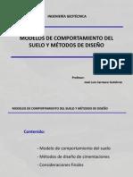 Modelos Suelos y Metodos Diseño