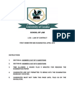 Contract Law Mid Exam April 2010.doc