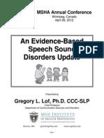 EvidenceBasedSpeechDisorders G.lof