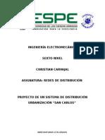 Distribucion Carvajal Proyecto