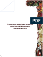 Orientaciones Pedagogicas Arte 2014