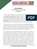 10 Corrida Do Benfica Regulamento
