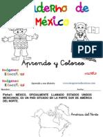 Cuaderno Tematico Aprendo y Coloreo Mexico
