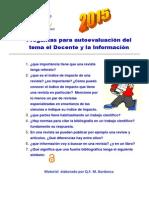 Preguntas Para Autoevaluación 2015