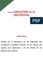 1º Clase - Introduccion a La Geotecnia