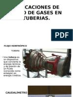 Aplicaciones de Flujo de Gases en Tuberias