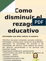 1 Propuestas Para Disminuir El Rezago Educ