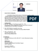 CV - Shoeb Sofiyan - QSurveyor