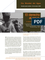 Dossier DMAgua 2009