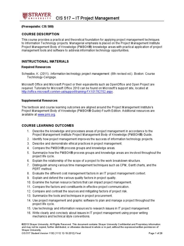 Strayer Study Guide Key Ebook Circuitlab Genie Garage Door Opener Mod Array Cis517 Student Project Management Technology Rh Scribd