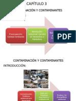 Capitulo III Contaminación y Contaminates
