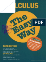 Calculus the Easy Way, 3rd Edition-Mantesh
