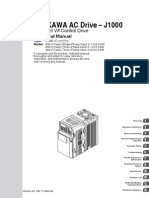 Yaskawa J1000 Manual