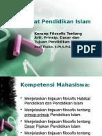 Filsafat Pendidikan Islam Artiprinsipdasar Tujuan
