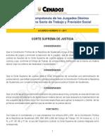 Decreto 31-2011