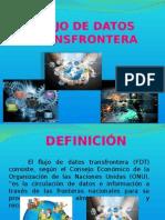FLUJO DE DATOS TRANSFRONTERA