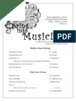 string orchestra program