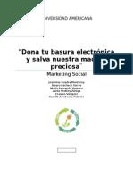 Campaña Social Basura Electónica