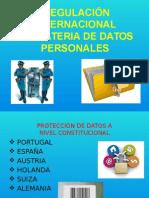 REGULACIÓN INTERNACIONAL EN MATERIA DE DATOS PERSONALES