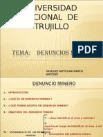 denuncio minero 02.ppt