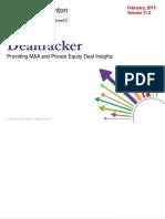 Deal Tracker 2015