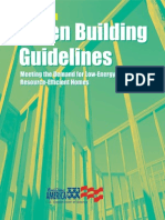 Green Building Guidelines Meeting the Demand for Low-Energy