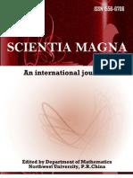 ScientiaMagna, Vol. 5, No. 3, 2009