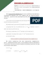 (232537241) Expresiones algebraicas