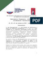 Convocatoria Oficial XVI Encuentro Iberoamericano de Cementerios - Lima 2015