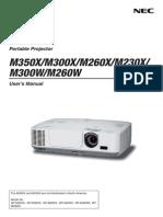 User Manual NP-M350XG
