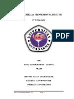 Tugas Etika & Profesionalisme TSI_Task2_30 Maret 2015