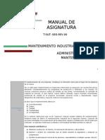 Manual_Administración de Mantenimiento