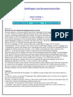 Discourse Terminology Practice